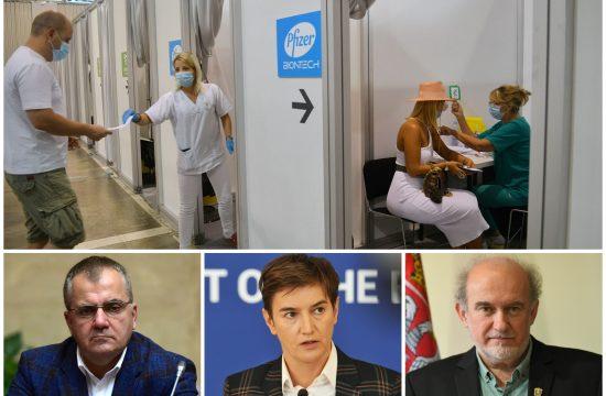 Vakcinacija, Zoran Pašalić, Ana Brnabić, Milan Marinović