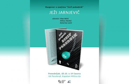 Razgovoro o eseijma Sizif pobednik, Ježi Jarnjevič, UK Parobrod