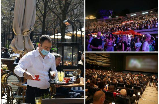 Kafić, koncert, bioskop, kovid propusnice, kovid propusnica