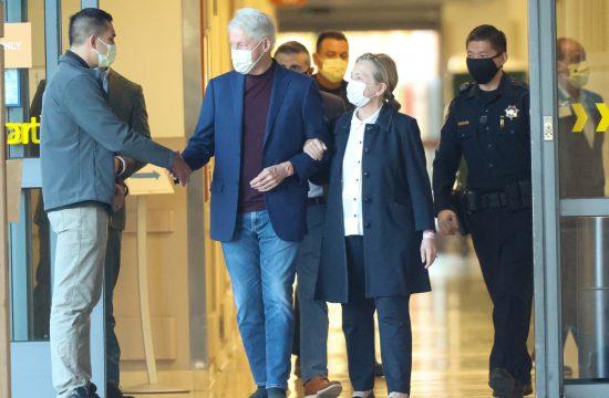 Bil Klinton izlazi iz bolnice