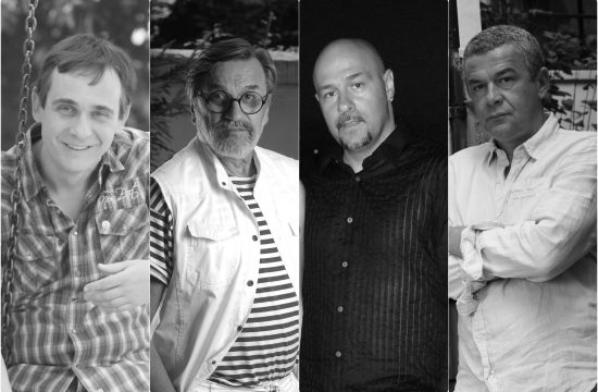 Marko Zivic, Dragan Gaga Nikolic, Dalibor Andonov Gru i Nebojsa Glogovac