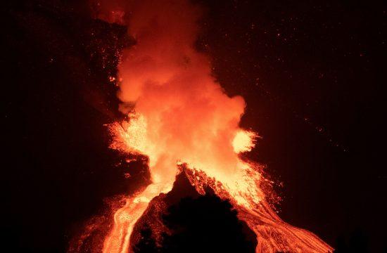 Vulkan erupcija La Palma Spanija