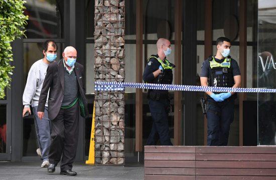 Melburn, Australija, ubadanje, policija