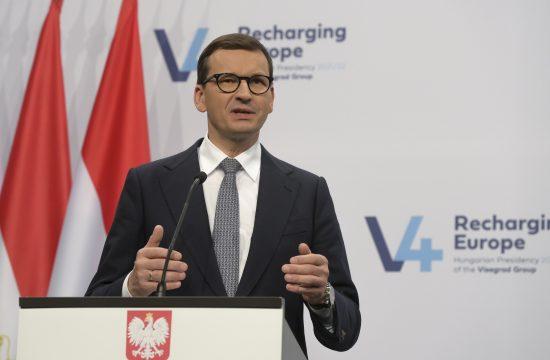 Poljska premijer Mateuš Moravjecki