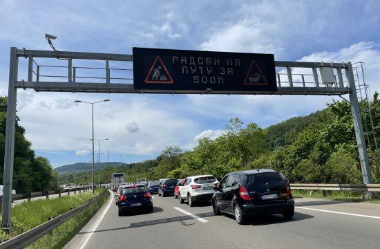 Obilaznica, Bubanj potok, autoput, auto-put, auto put, saobraćaj, ilustracija