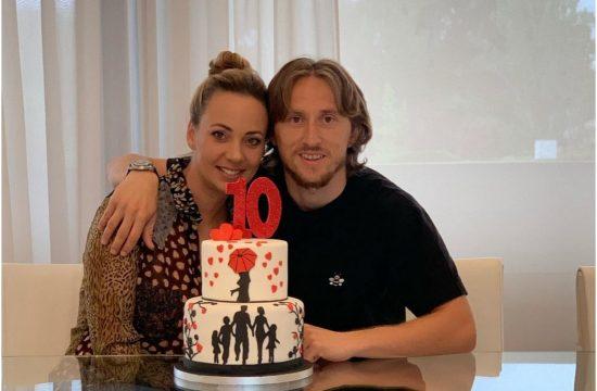 Luka Modrić i supruga