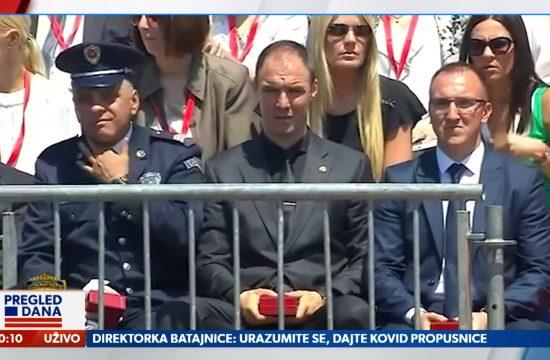 Policajac, Zašto je Senta junior na ledu, prilog, emisija Pregled dana Newsmax Adria