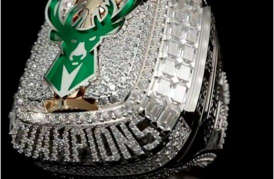 Milvoki Baks NBA prsten