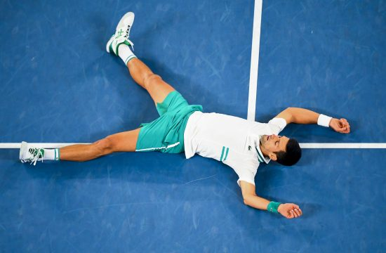 Novak Đoković na Australijan openu