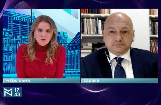 Dejan Jović, Fakultet političkih nauka Zagreb, gost, emisija Među nama, Medju nama Nova S