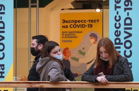 Rusija, koronavirus