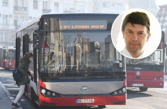 GSP, autobus, gradski prevoz, Nikola Jovanović