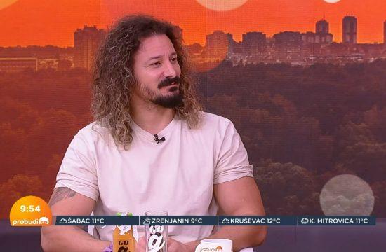 Andrej Maričić, jutarnji program Probudi se Nova S