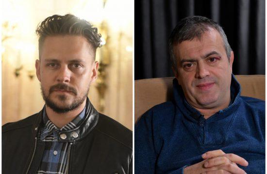 Miloš Biković i Sergej Trifunović