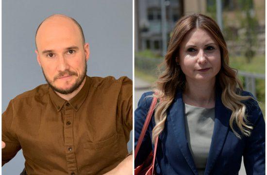 Balša Božović i Aleksandra Jerkov