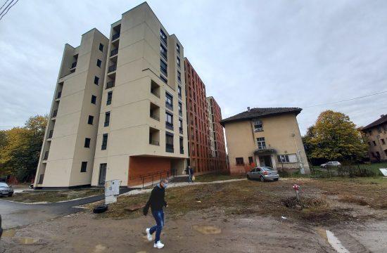 Kraljevo, novi stanovi, useljenje, nova zgrada