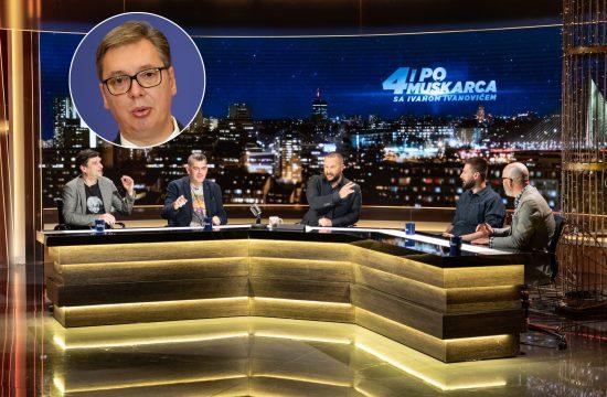 Aleksandar Vučić, emisija Četiri i po muškarca, 4 i po muškaraca