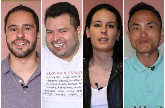 Stranci, srpski jezik