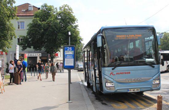 Slovenija, autobus, gradski prevoz