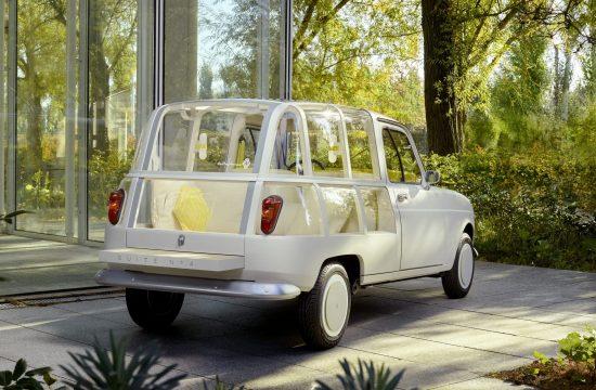 Renault 4, hotelska soba, auto, automobil