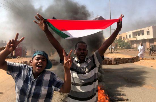 Sudan protesti