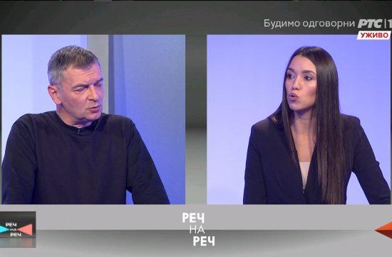 Aleksandar Jovanovic Cuta i Nevena Djuric Emisija Rec na rec