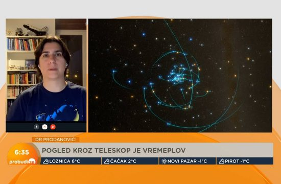 Planeta u drugoj galaksiji: Pogled kroz teleskop je pogled kroz vremeplov