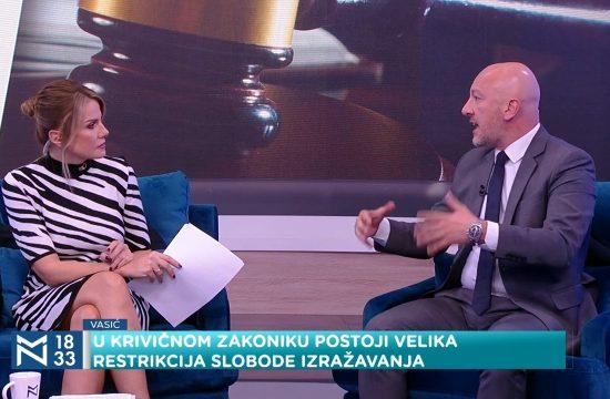 Izmene Krivičnog zakonika – atak na kritiku_ - gosti Miodrag Majić i Milena Vasić