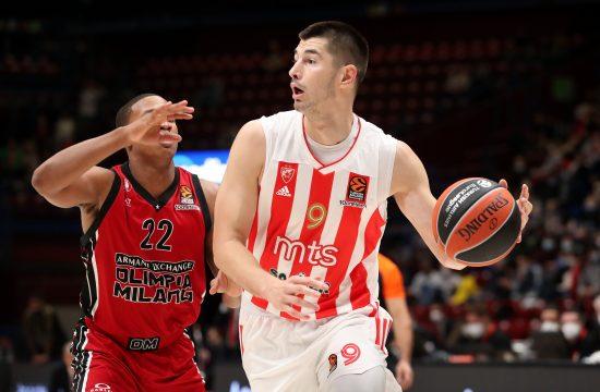 Luka Mitrović, KK Crvena zvezda, KK Milano